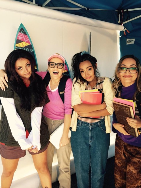 Little Mix; from the girls' Twitter page.