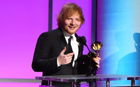 Ed Sheeran Getting His First Grammy Awards